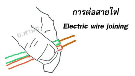 การต่อสายไฟฟ้า